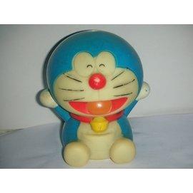 aaL皮商旋.(企業寶寶公仔娃娃)已稍有年代哆啦A夢(Doraemon)寶寶/存錢筒/撲滿!/6房樂箱91/-P