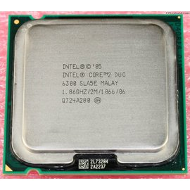 ~ 良品CPU~Intel Core 2 雙核心處理器 E6300 775腳位