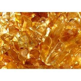 【妙音天女】黃水晶碎石─可放至於八供杯、水晶蛋、聚寶盆