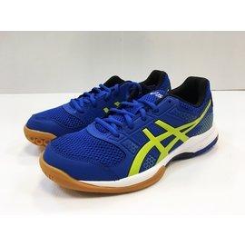 【飛毛腿體育用品】ASICS 亞瑟士 GEL-ROCKET 8 排球鞋(藍)  B706Y-4589