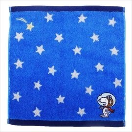 ~A~mon 雜貨屋~ 帶回來史努比SNOOPY~牛仔風格的迷你毛巾 飛行員~綿質方巾毛巾~刺繡100%純棉~擦汗巾