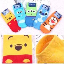 韓國帶回Disney迪士尼 小熊維尼 跳跳虎 三眼怪 史迪奇 毛怪 短襪 直板襪 卡通襪