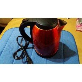二手日本imarflex【伊瑪】304不鏽鋼內膽2000ml快煮壺-紅 IK-2003,只賣299元
