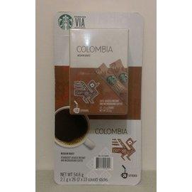 《天晴百貨小舖》Starbucks(星巴克) 哥倫比亞即溶研磨咖啡(5入)
