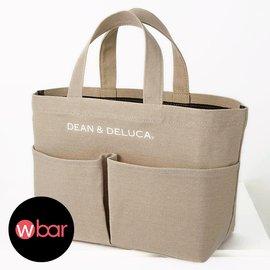 ~wbar~ DEAN&DELUCA雙口袋帆布托特包 帆布包 手提包 手提袋 便當包 便當袋 午餐包 袋 帆布袋