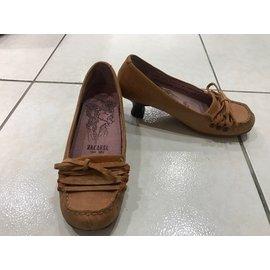 MACANNA麥坎納 包鞋 短跟 5.5號 22號