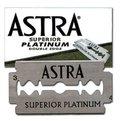 ~老式刮鬍~俄羅斯 Astra Superior Platinum 極致白金版 雙面安全刀片 (5片裝)
