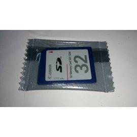 (便宜賣)全新 Canon SD 32MB 記憶卡(SDC-32M) 不是32GB唷!