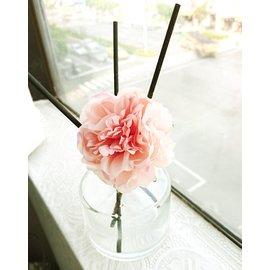 cocodor 精油擴香瓶/花瓶/盆栽 裝飾品模擬花-繡球牡丹