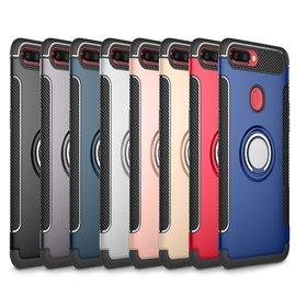 附指環扣可站立OPPO R11s  R11s Plus防摔防撞防滑鋼鐵人手機殼保護殼保護套