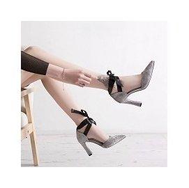 Muscail Stores 65% 編號 X18680# 蝴蝶綁帶 女神 美鞋 實拍好穿  高跟鞋 ~分尺寸顏色