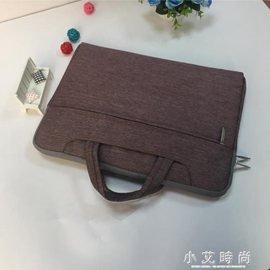 電腦包蘋果聯想華碩電腦包10 11 .6 13 14 15.6寸筆記本手提包男女13.3