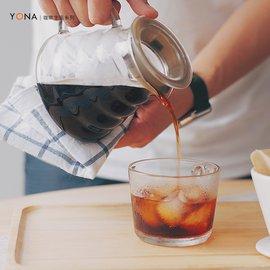 YONA 咖啡分享壺 360ML 雲朵壺 耐熱手沖咖啡壺 滴漏壺 家用玻璃咖啡壺 咖啡壺