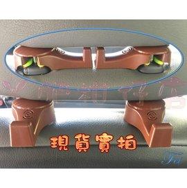 汽車椅背掛鉤隱藏式車用座椅背車內 車載多 座椅掛鉤一對裝