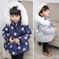 女童棉襖2017新款韓版公主兒童女冬裝厚外套1-3歲女寶寶羽絨棉服