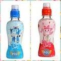 現貨 韓國POli波力乳酸風味飲料草莓牛奶200ml