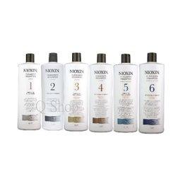 NIOXIN 賦活 深層頭皮潔淨露 洗髮精 1號~4號 / 護髮霜 1000ml