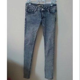 顯瘦合身低腰牛仔褲 雪花褲 skinny 窄管褲 靴型褲