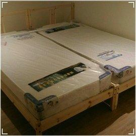 需自取 / 為Ikea床架訂做的床墊100*190