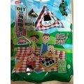聯華 元本山 DIY三角飯糰海苔 15枚 袋裝 全素 食玩 自己動手做