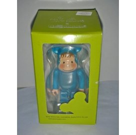 aaS1皮1商旋. 企業寶寶公仔娃娃  附盒未拆封萊爾富發行 幾米BE~RBRICK獸裝小孩公仔!~有 雷射標籤