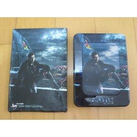 周杰倫 跨時代  附Jay 十年3D桌曆 2010~2011 Calendar  鐵盒版