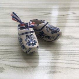 🇳🇱荷蘭阿姆斯特丹🇳🇱迷你陶瓷木屐鞋收藏品-旅遊帶回-