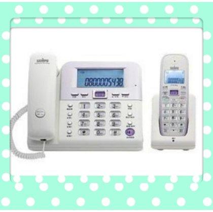無線/免持/子母機 SAMPO聲寶CT-W1103NL. DECT數位2.4GHz無線子母機室內電話