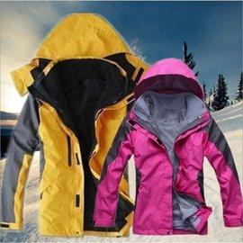 兩件式衝鋒衣 保暖防風防水連帽外套 GORE-TEX面料技術 户外防雨防寒外套/軍裝外套/大衣