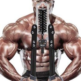 重量可調節臂力器30kg到60公斤練臂肌擴胸鍛煉健身器材家用臂力棒  全館免運 igo