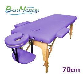 FDW【MTT1】免運現貨*熱銷美國 BestMassage 加寬型70CM折疊按摩床 高質量護膚摺疊按摩床 推拿床 美容床