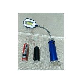 18650 4號 電池 雙電池 底部磁鐵光工作燈 含一顆18650鋰電池 4號電池套筒