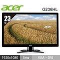 全新 ACER G236HL 23吋 薄型/雙介面DSub/DVI LED液晶螢幕