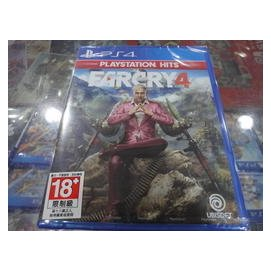PS4 極地戰嚎 4 PS4 極地戰嚎4 英文版 全新未拆封 [士林遊戲頻道]