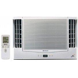 HITACHI日立 4-5坪 直流DC變頻 雙吹式 冷暖窗型冷氣 RA-28NV
