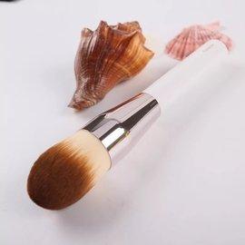 爆款柔軟刷毛La Mer海藍之迷火箭頭粉底刷bb霜刷粉底液刷化妝刷修容刷美妝工具刷