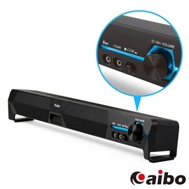~YoYo 3C 喇叭~ aibo LA101 USB家庭劇院 單件式雙聲道立體聲喇叭