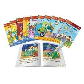 ~玩具倉庫~美國~LeapFrog 跳跳蛙~全英電子閱讀筆初級學習閱讀  含十本書 ←點讀 英文 單字 文法 發音