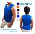 【ZENPU】三槍牌宜而爽CoolPlus速乾100%透氣排汗無袖V領衫/背心/內衣/運動M-XL