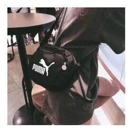 Puma彪馬新款休閒百搭嘻哈潮流外出必備情侶斜背包側背包 puma背包