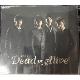 KAT~TUN Dead or Alive 台壓 普通盤 已拆封