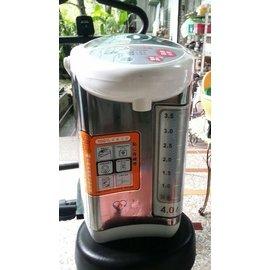 二手元山家電4L不鏽鋼熱水瓶YS-540AP