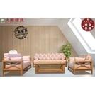 【大熊傢俱】DG-1 布沙發 原木布沙發 現代 日式和風沙發 木製沙發 實木沙發 休閒椅 實木組椅 工廠直營 展示