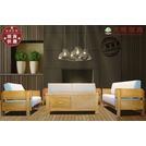 【大熊傢俱】DG-7 布沙發 現代 原木布沙發 北歐布沙發 實木組椅 日式和風沙發 懶人椅 休閒椅 簡約 實木組椅