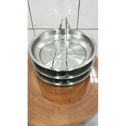(大同電鍋蒸盤)蒸鍋 蒸盤 304不鏽鋼蒸盤 盤子 不鏽鋼盤子 菜盤 蒸層 10人電鍋蒸層