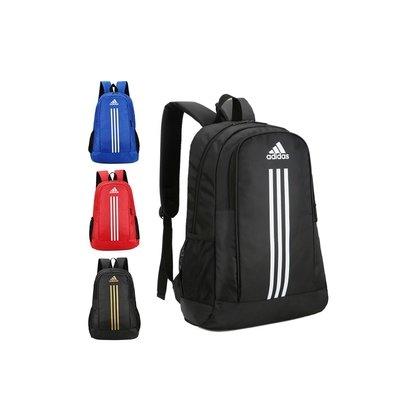 環球 adidas帆布男女雙肩包學生書包休閒背包電腦包