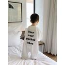 2018秋季新款嬰童裝男童連體睡衣嬰幼兒百搭衣服新生兒長袖睡袋男寶寶家居服🎀Alice baby shop🎀