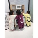 2018冬季新款兒童連體睡衣女寶寶長袖家居服嬰幼兒法蘭絨睡袋新生兒加厚衣服🎀Alice baby shop🎀