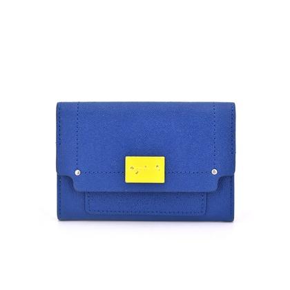 agnes b 拼色名片夾 證件夾 011300000103 再生工場 04