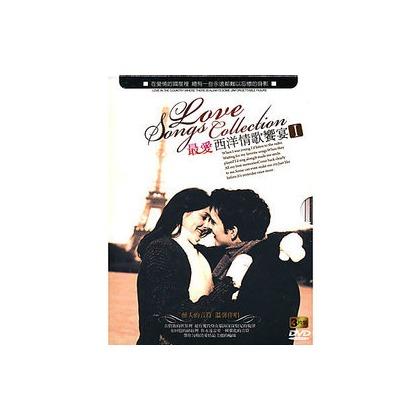 影音蒐藏家㊣最愛西洋情歌饗宴DVD 3片裝 ㊣ 未拆封